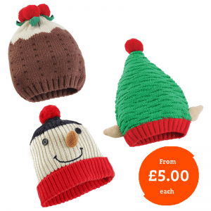 Knitted Christmas Hat