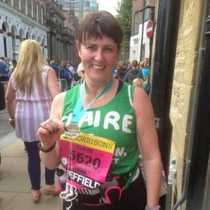 Claire Great Yorkshire Run