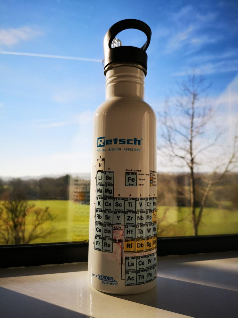 Retsch Branded Bottle