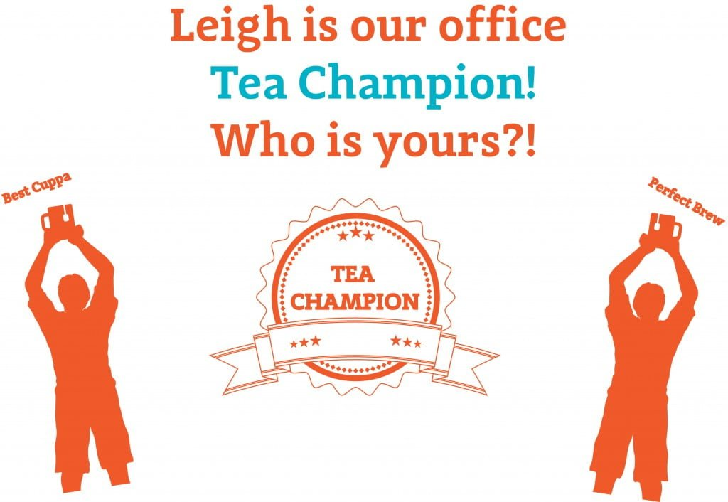 emailer title tea champ
